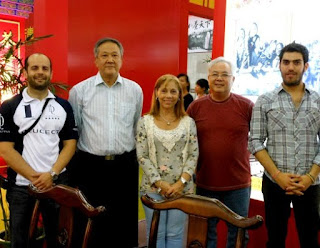 At the show I met tea enthusiasts from Argentina, Mexico, and China's Jiangxi Province