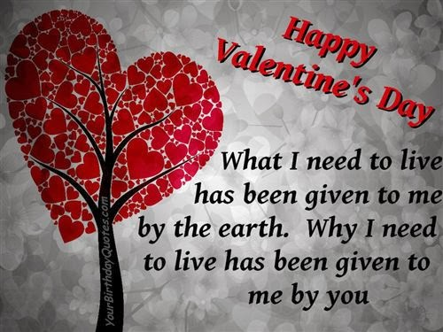Free Famous Valentine's Day Wishes Quotes 2014