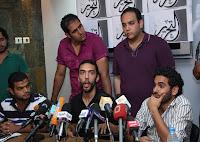 شباب الثورة يعلنون حل ائتلافهم رسميا في مؤتمر صحفي بـ«ساقية الصاوي »
