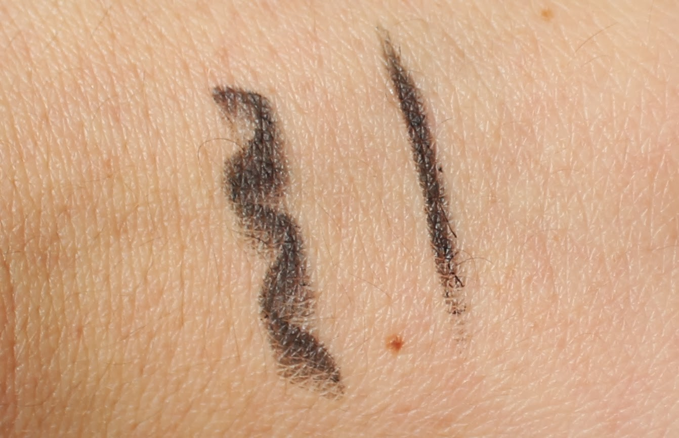 maybelline master kajal liner pitch black swatch