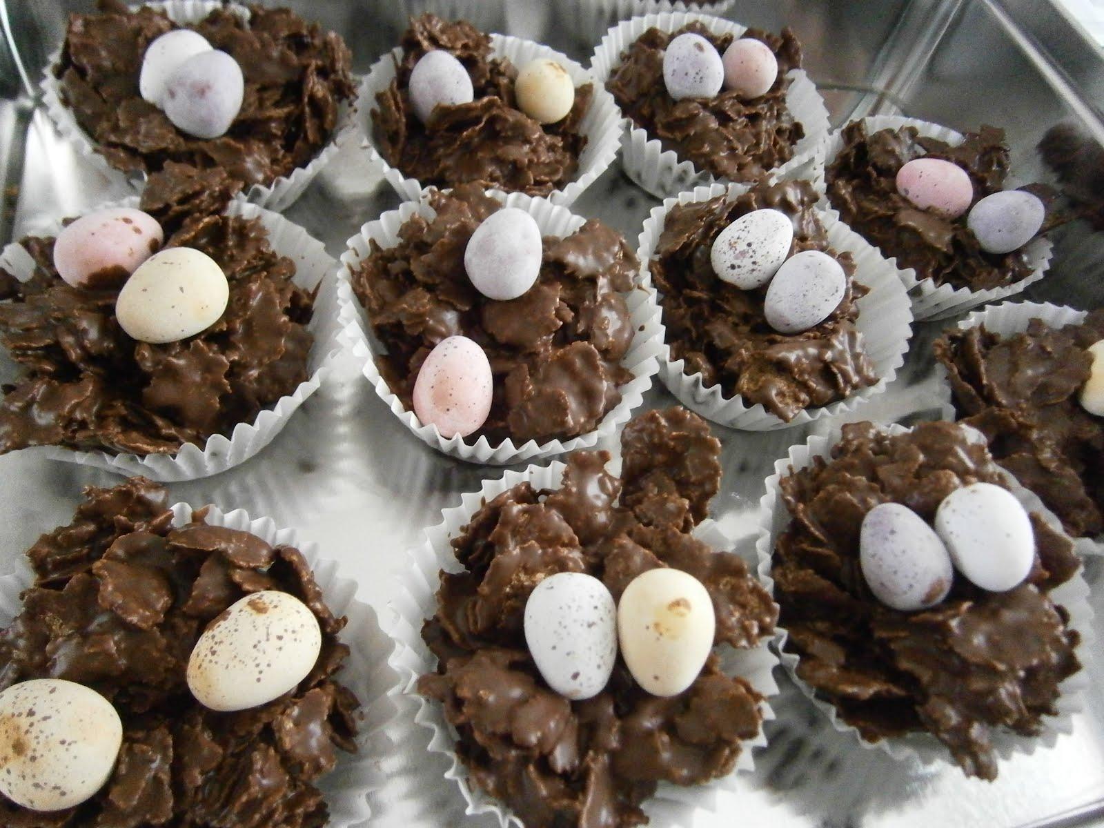 Sarah blogs...: Easter Egg Nests