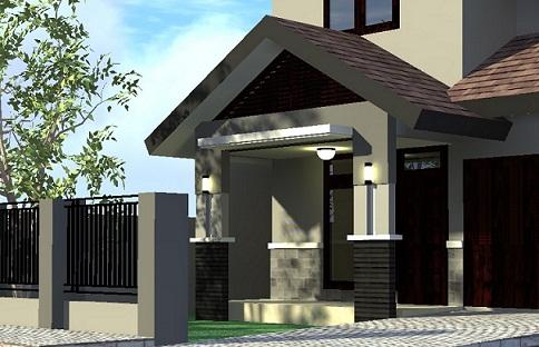 teras rumah minimalis gambar dan contoh bangunan