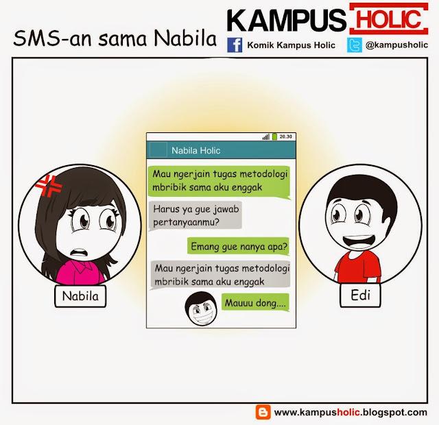 #892 SMS-an sama Nabila