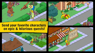 The Simpsons Tapped Out 4.1.2 Apk