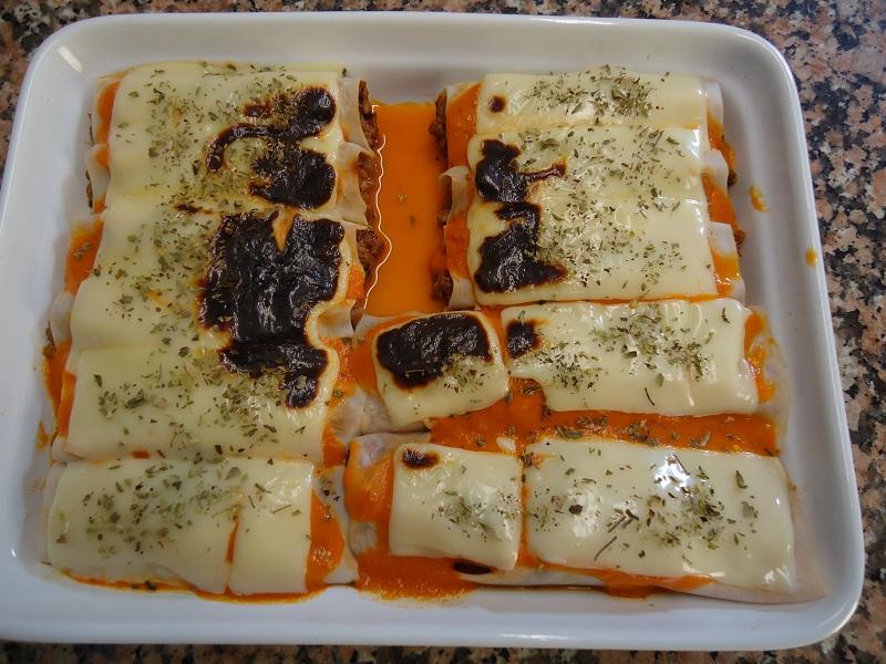 La cocina de can jabalpan canelones de ternera con verduras - Canelones en microondas ...