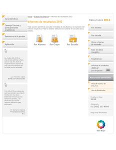 RESULTADO DE MI ESCUELA ENLACE 2012