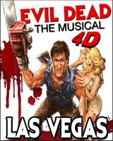 Evil Dead The Musical in Las Vegas