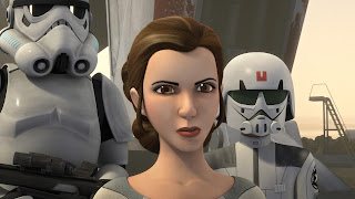 Young Princess Leia star wars rebels