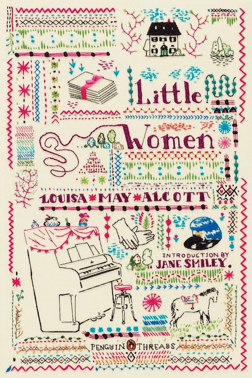 Little Women Book Cover Penguin ~ Misako mimoko amazing embroidered book covers by rachell
