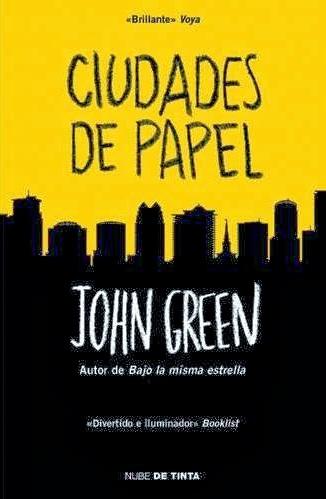 """Leer online """"Ciudades de Papel"""" John Green PDF"""
