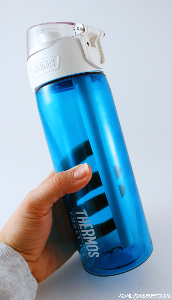How the Thermos Connected Hydration Bottle Helps with #HydrationGoals