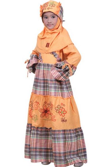 Kreasi Baju Lebaran 2015 Untuk Anak Anak Yang Terbaru Dan