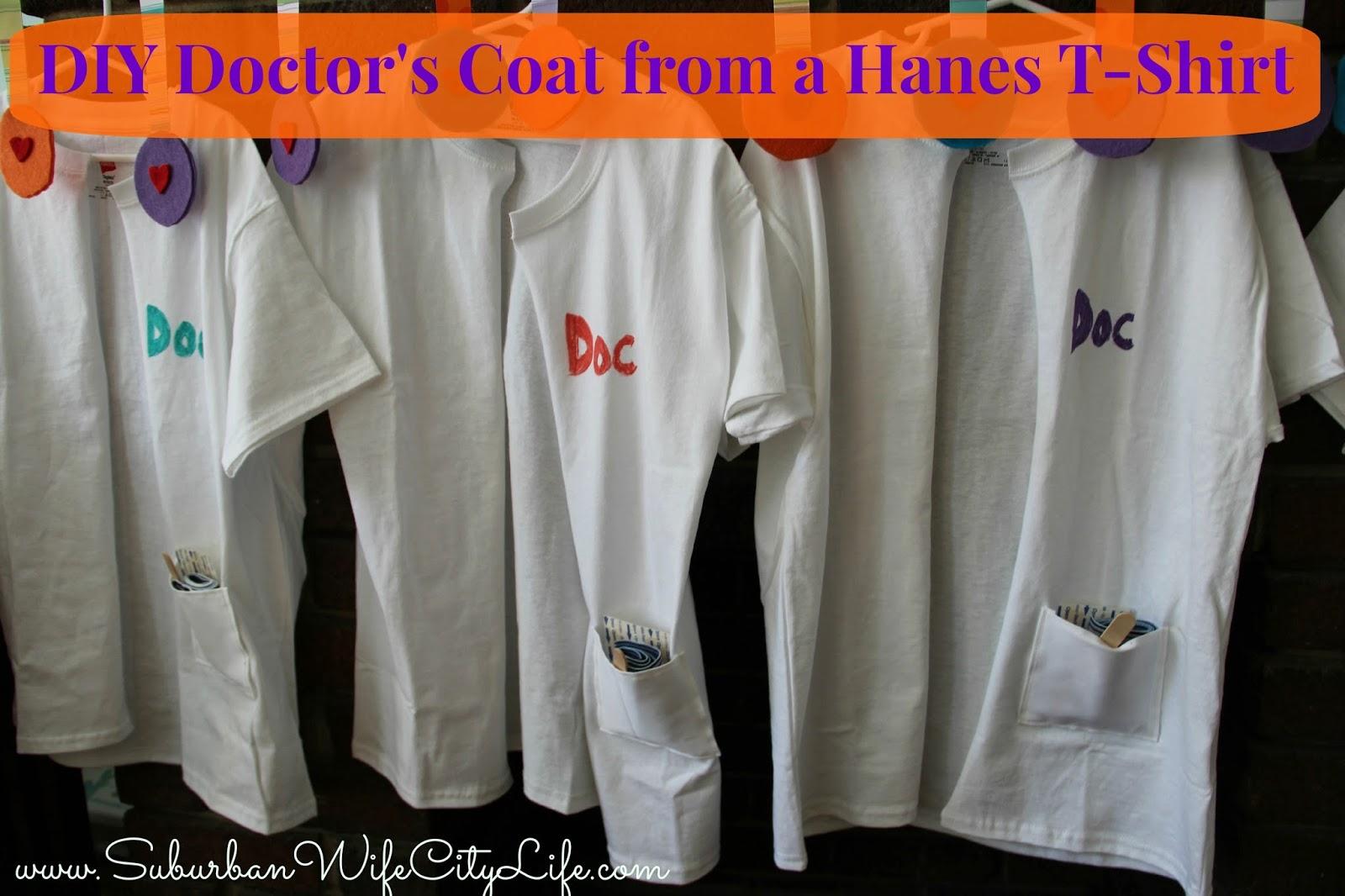 DIY- Doctor's Coat