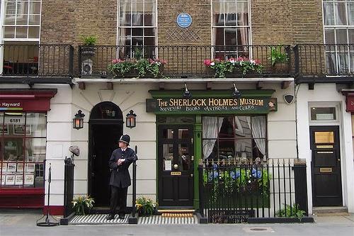 Casa Museo de Sherlock Holmres de Londres