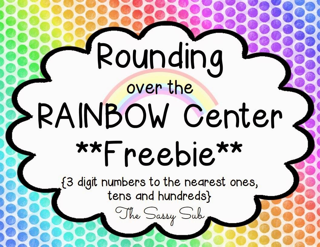 http://www.teacherspayteachers.com/Product/Rainbow-Math-Rounding-Center-Freebie-1183955