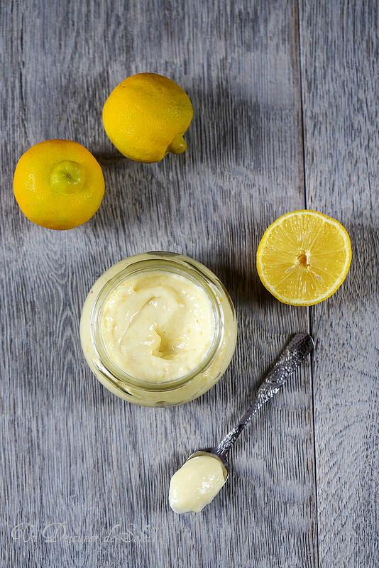Curd ou crème au citron bergamote