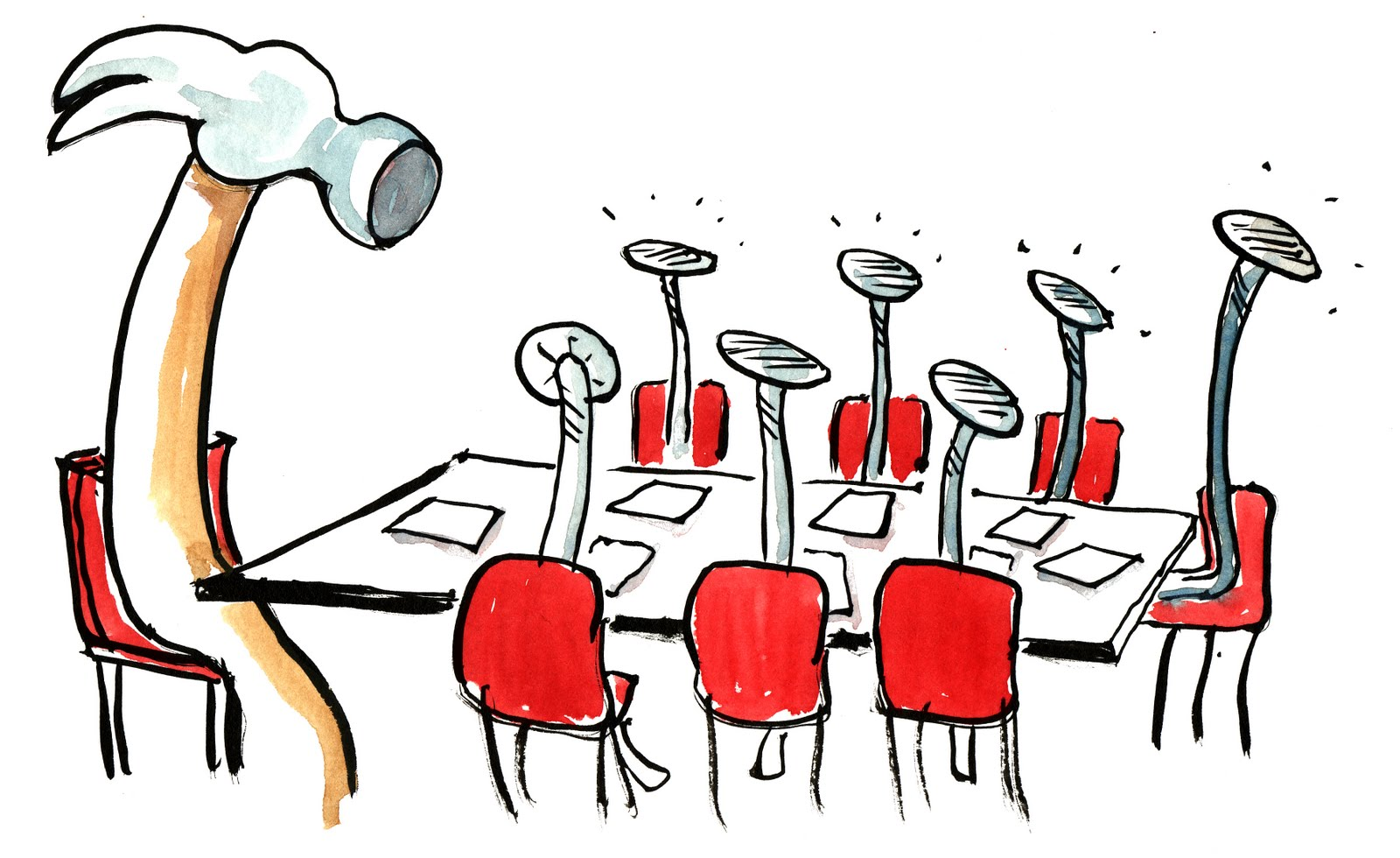 employee meeting clipart - photo #13
