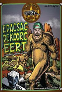 Dark Horse Edacsac Dekoorc Eert Label Design