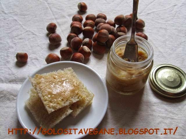 burro di nocciole, nocciole, Preparazioni di base, raw, Raw Food, ricette vegan,