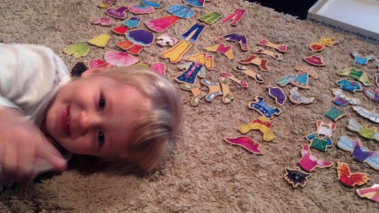the path to an organized tomorrow teaching kids organization the other day my daughter and i were playing her magnetic dress up dolls and the clothing and accessory magnets were strewn all over the floor