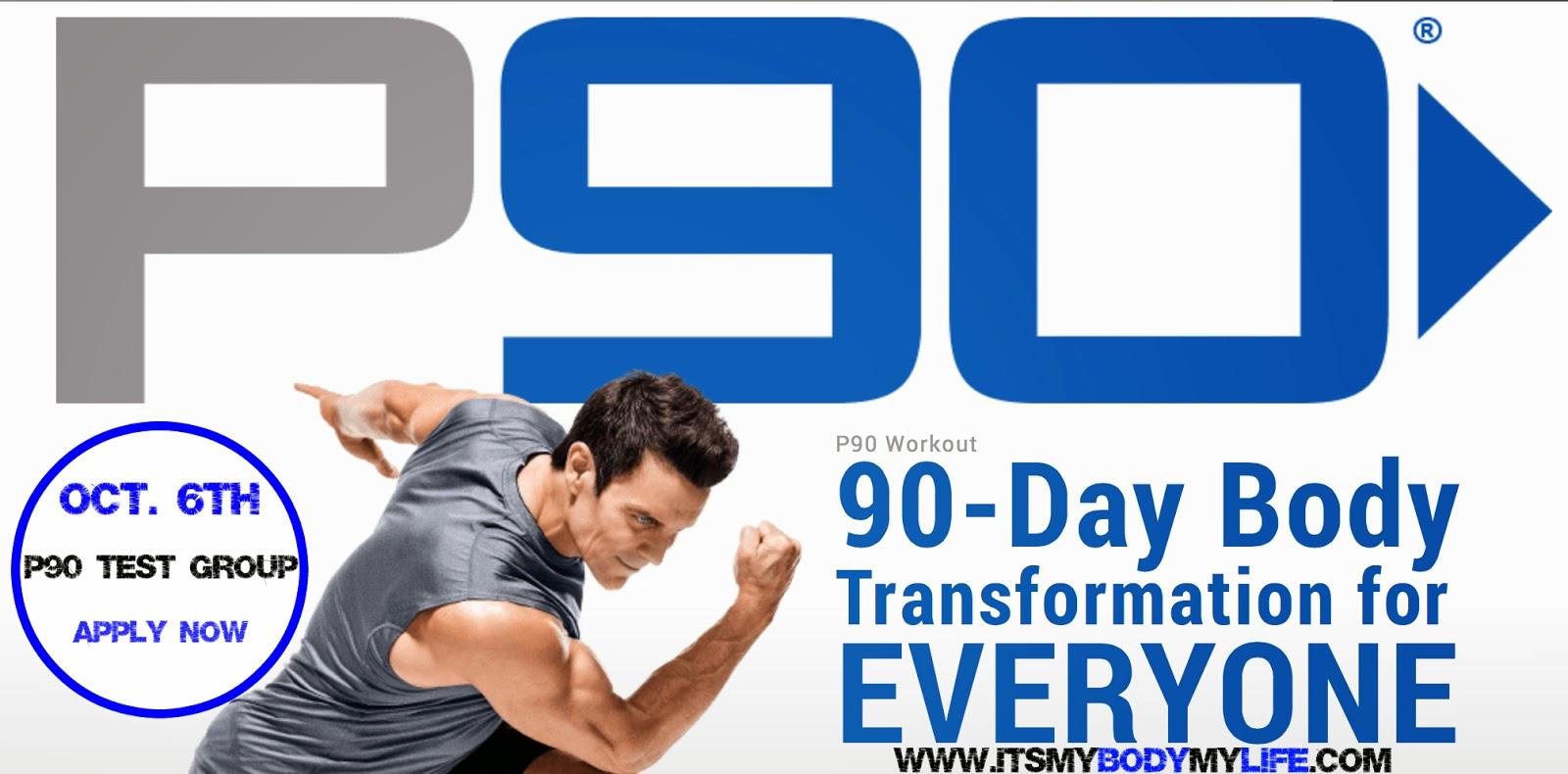 p90, p90 challenge group, p90 test group, p90 results, tony horton,
