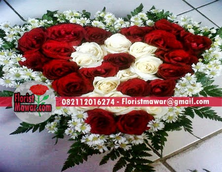 Bunga Ungkapan Cinta terindah Di Jakarta