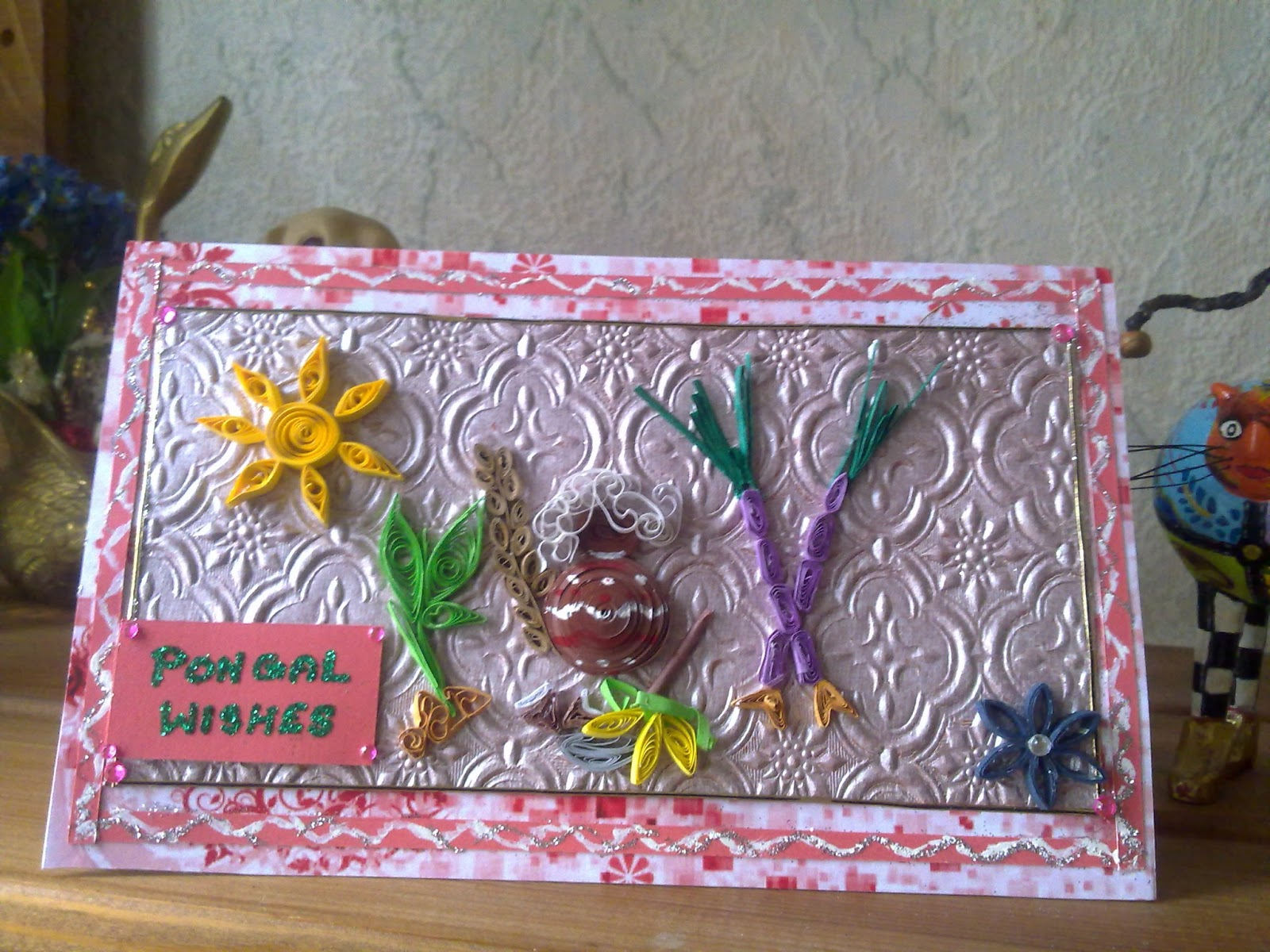 Papercrafts Happy Pongal