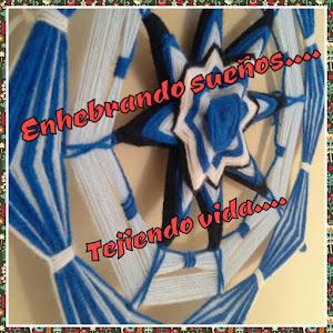 MANDALAS HUICHOLES - OJO DE DIOS