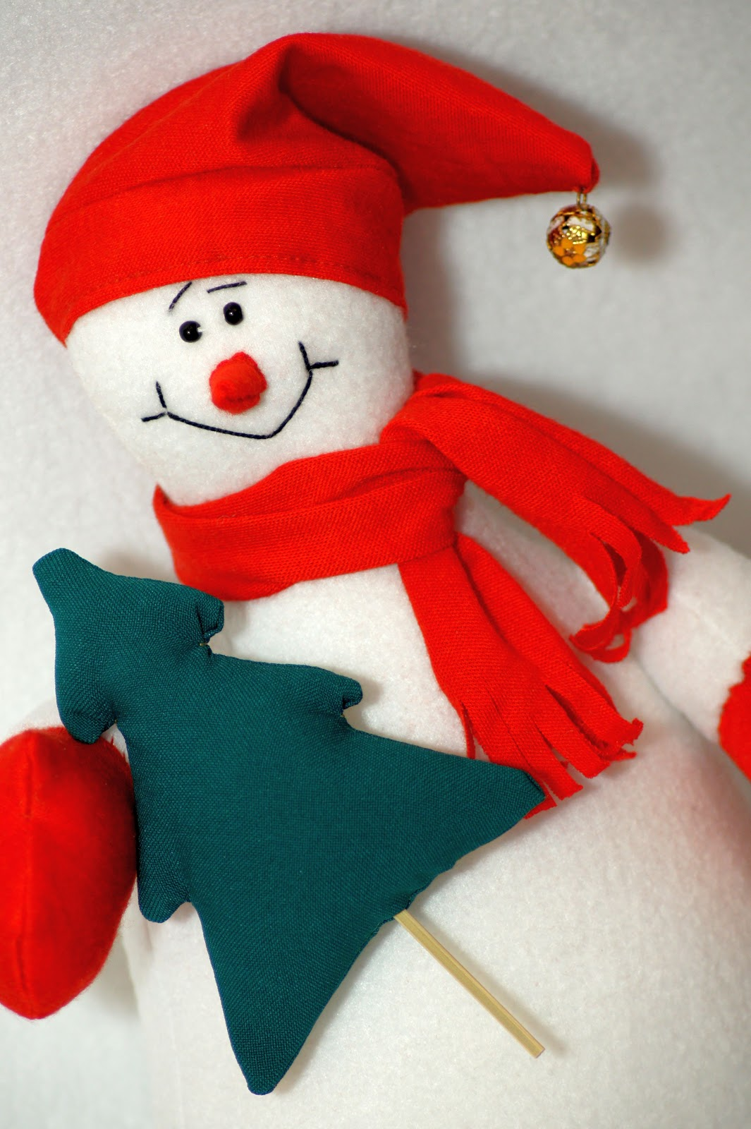 Как сделать снеговика своими руками 50 см