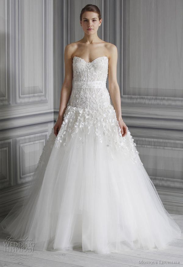 A sweet soiree blogspot bridal fashion 2012 fav for Monique lhuillier wedding dress designers
