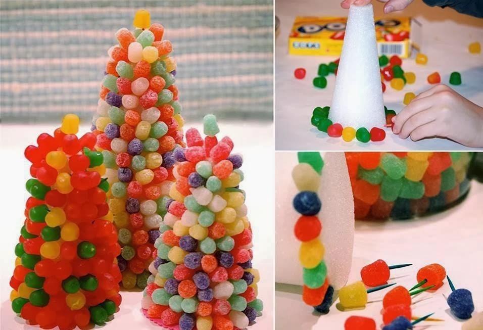 Albero di caramelle la casa delle idee for Casa di caramelle