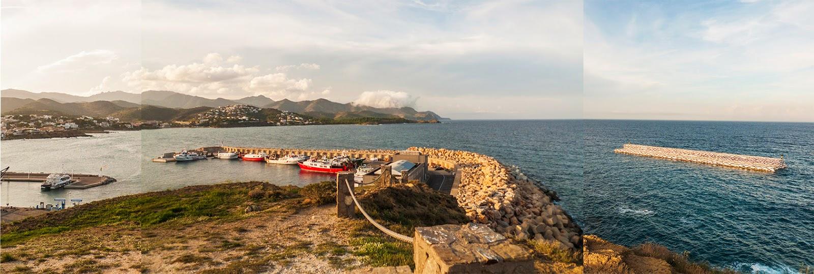 panoramica puerto llança