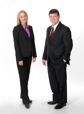 Jeff Edberg Commercial Real Estate Team, Rachel Barnes and Jeff Edberg
