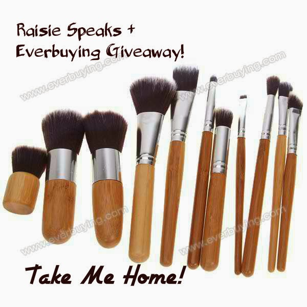 Raisie Speaks + Everbuying Givaway