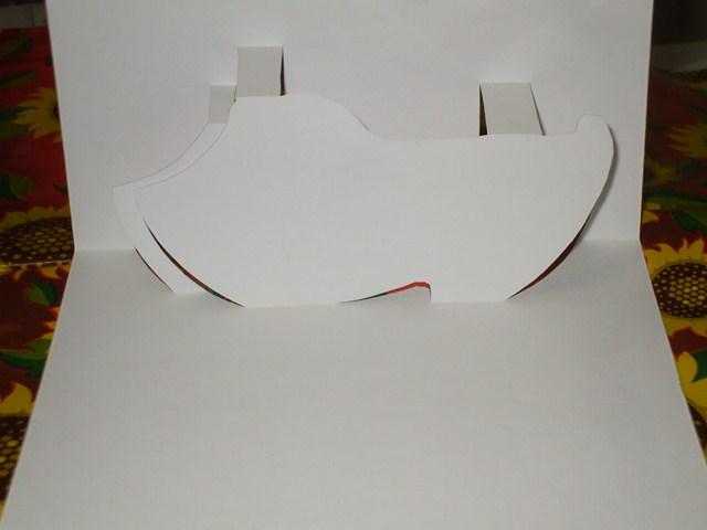 Tarjetas Pop Up Y De Origami Arquitectonico Suecos De Madera