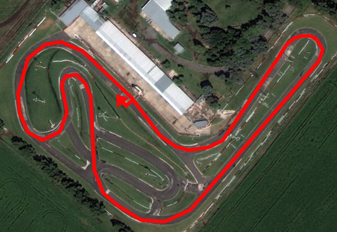 Circuito Zarate : Campeonato argentino de pilotos amateur fecha