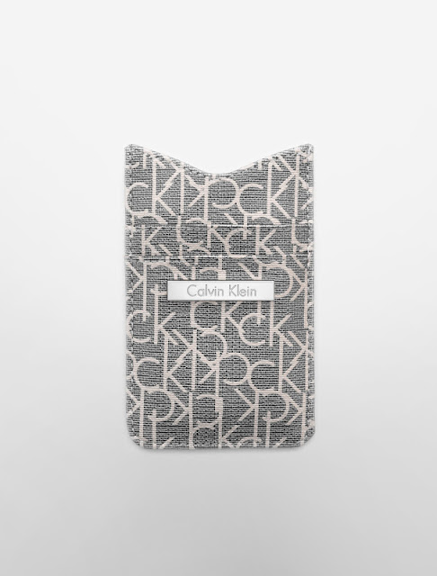 simone ck logo iphone case light grey