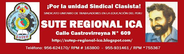 SUTE REGIONAL ICA - 2011