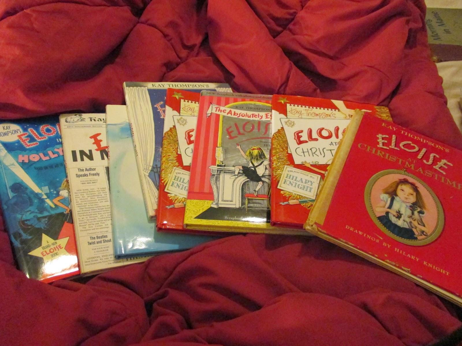 Eloise books, Kay Thompson, Hilary Knight