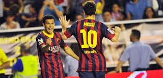 Barcelone 4 - 0 Elche