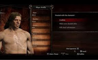 Dragon's Dogma Character Customization Screen