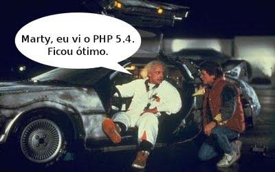PHP 5.4 direto do futuro