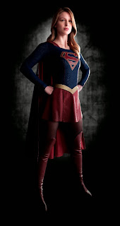 First image of Melissa Benoist as Supergirl