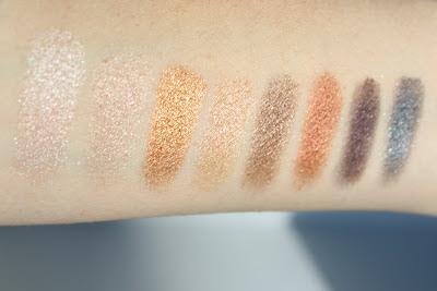 Lorac Pro Palette eyeshadow shimmer shades