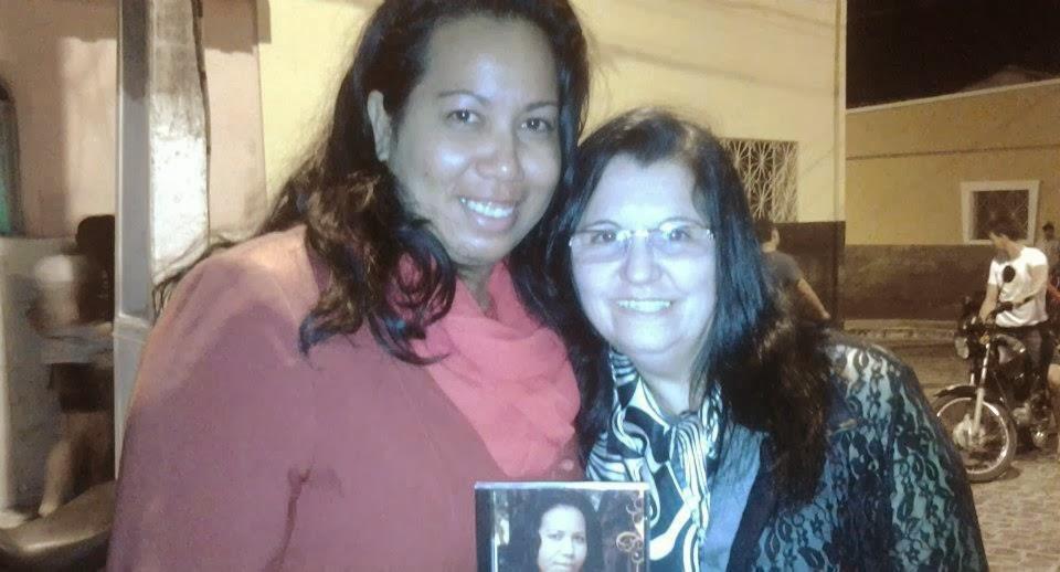 Cantora Cassia e Miriam Santos