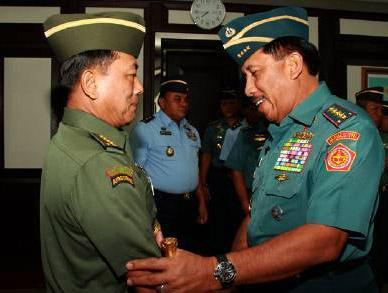 Kasad Jenderal TNI Moeldoko Baru Naik Pangkat