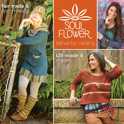 Soul Flower catalog launch - Soul Flower Catalogs & Email Newsletter!