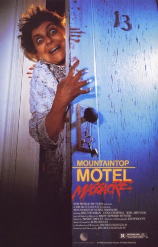 Poster Of Mountaintop Motel Massacre (1986) In Hindi English Dual Audio 100MB Compressed Small Size Mobile Movie Free Download Only