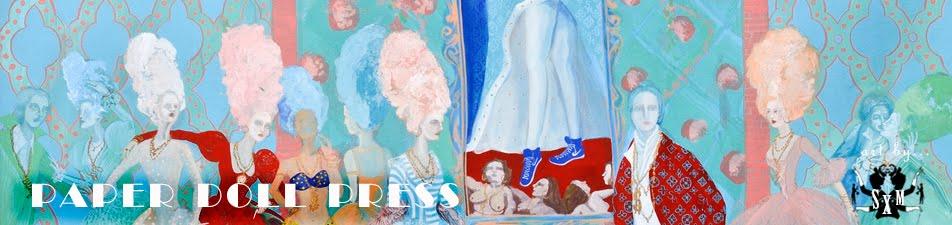 <br><br><center>Paper Doll Press  <br>  Stephanie Mercado Fine Arts</center>