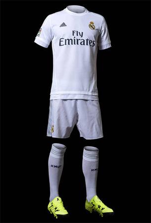 primera equipación Real Madrid 2015 2016